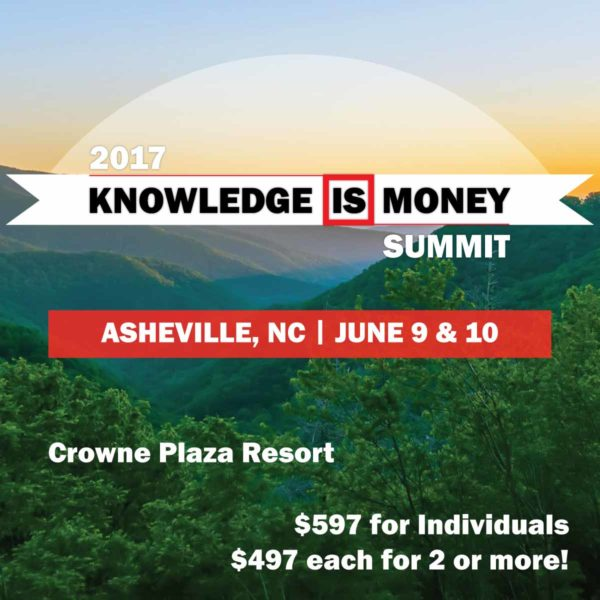 2017 Knowledge is Money Summit